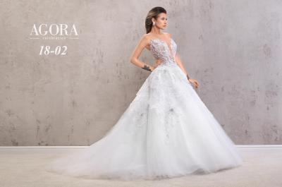 Agora Wedding Dress 18-02#546