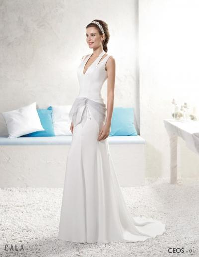 Cala Brides From Ibiza Trouwjurk Ceos#1151