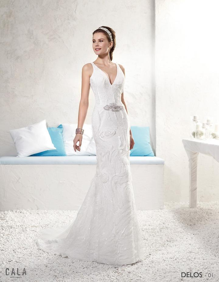 Cala Brides From Ibiza Trouwjurk Delos#1141