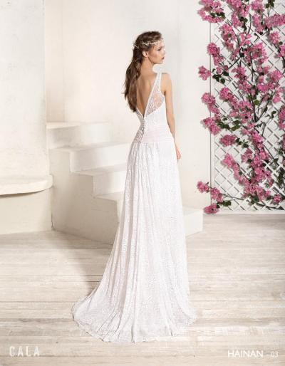 Cala Brides From Ibiza Trouwjurk Hainan#1162