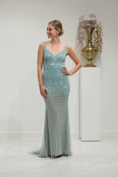 Chic & Holland Evening wear HF1308#28412