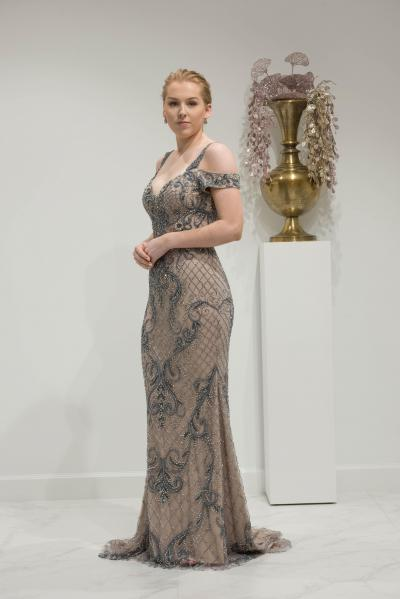Chic & Holland Evening wear HF917#28401