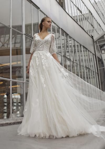 Le Papillon by Modeca Weddingdress RE Lake#32758