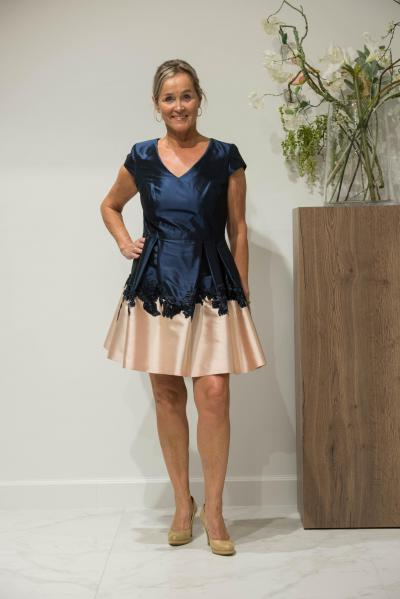 Linea Raffaelli Avondkleding 181-822-01 Dress#21461