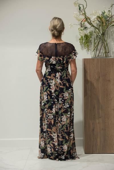 Linea Raffaelli Evening wear 191-203-01 Dress#25081