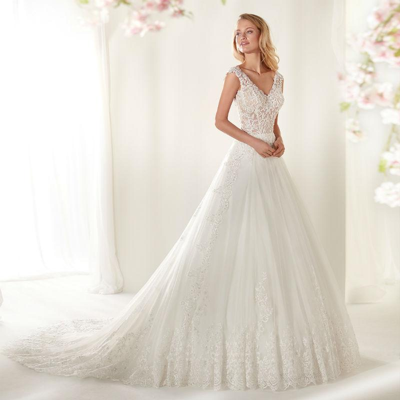 Nicole Milano collection Colet Hochzeitskleid COAB19316#24605