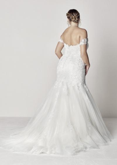 Pronovias Plus Trouwjurk Extrem plus#9825