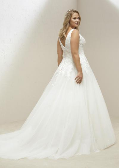 Pronovias Plus Trouwjurk Mary plus#9880