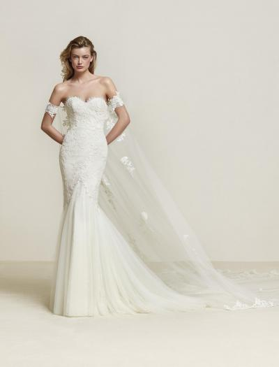 Pronovias Plus Wedding Dress Drimea-Plus#9791