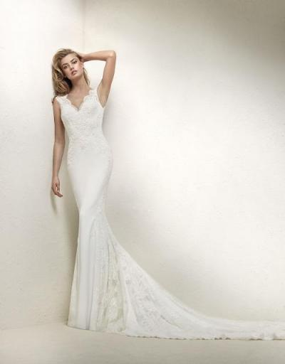 Pronovias Plus Wedding Dress Drusila plus#9862